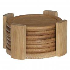 Podmetači za čaše 6/1 bambus