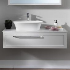 Umivaonik od lijevanog mramora na Kerrock ploči 110 cm