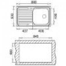 Sudoper CLASSIC 1B1D