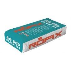 Ljepilo za keramiku fleksibilno Rofix AG 650 C2 TE S1  25kg