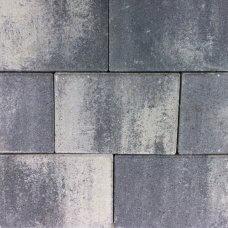 Opločnik Semmelrock kombinirano 6 sivo-crno-bijelo prošarano