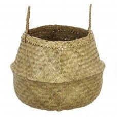 Košara pletena ukrasna