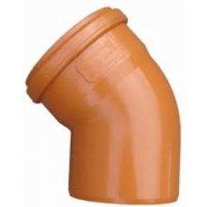 PVC kanalizacijsko koljeno 110/45 SN2