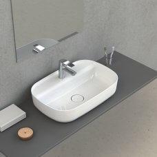 Umivaonik Aqua 42x28 bijela sjaj