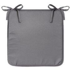 Jastuk za stolicu 39x39x2 cm siva